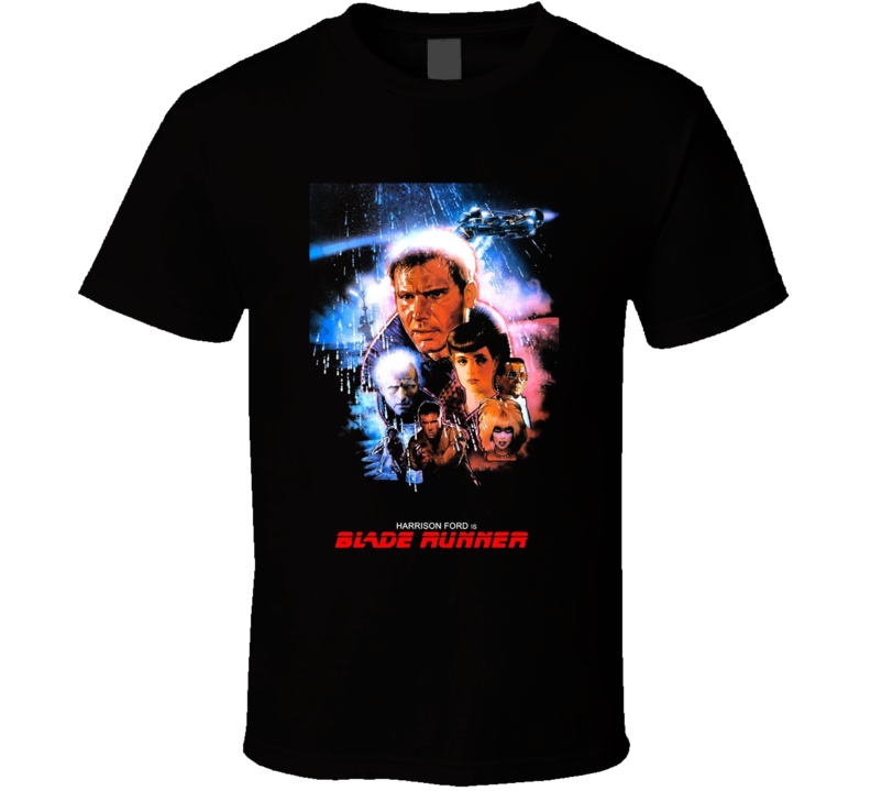 Blade Runner Retro Classic Movie T Shirt