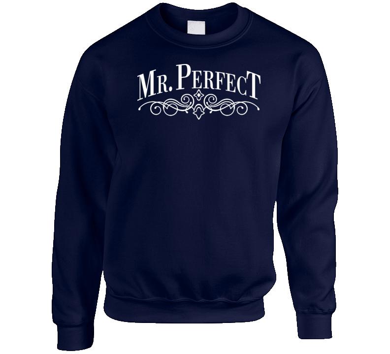 Mr Perfect Logo Retro Wrestling Crewneck Sweatshirt T Shirt