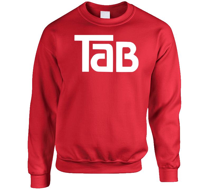 Tab Cola Retro Soft Drink Crewneck Sweatshirt T Shirt