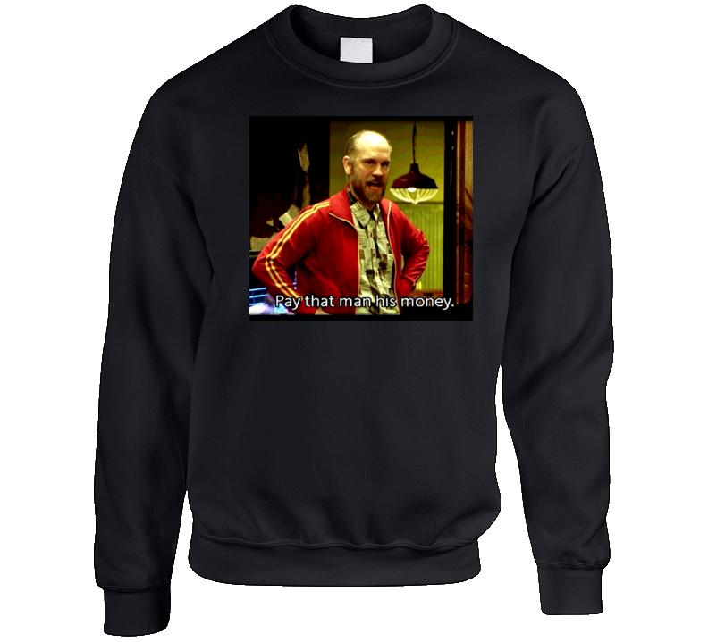 Rounders Teddy Kgb Retro Poker Movie Crewneck Sweatshirt T Shirt