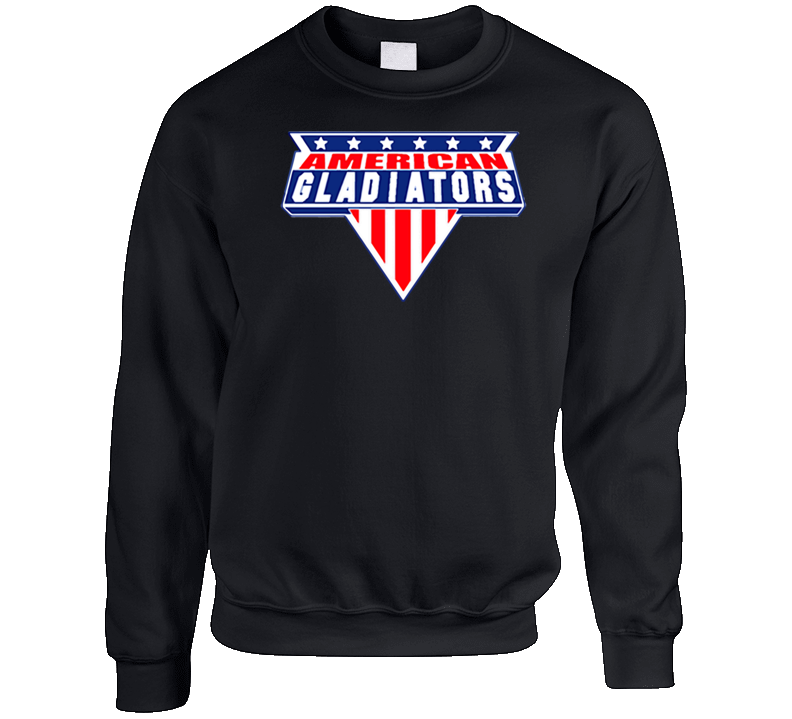 American Gladiators Retro Game Show Crewneck Sweatshirt T Shirt