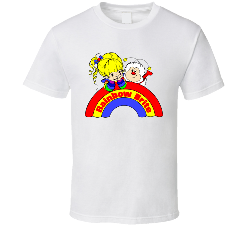 Rainbow Brite Kids Retro Cartoon T Shirt