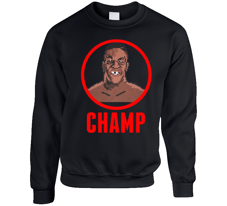 Mike Tyson's Punch-out Boxing Champ Crewneck Sweatshirt T Shirt