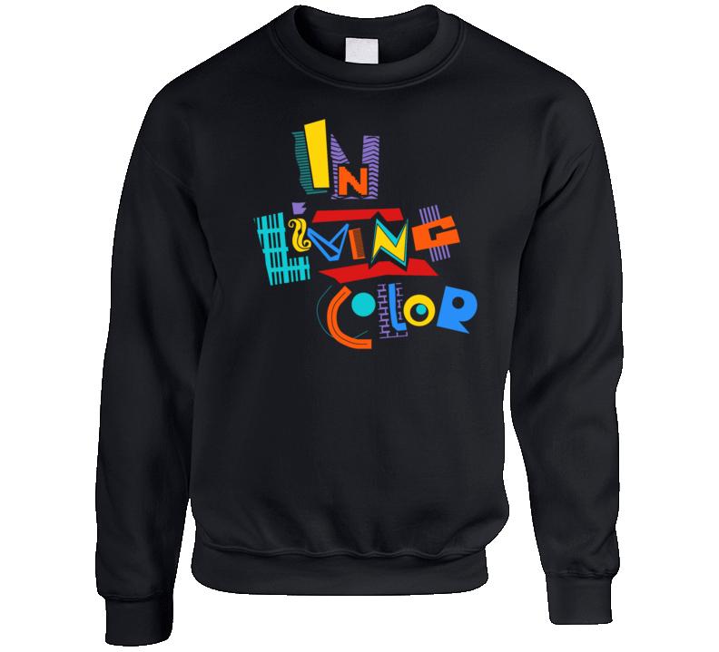 In Living Color Retro 90's Comedy Tv Show Crewneck Sweatshirt T Shirt