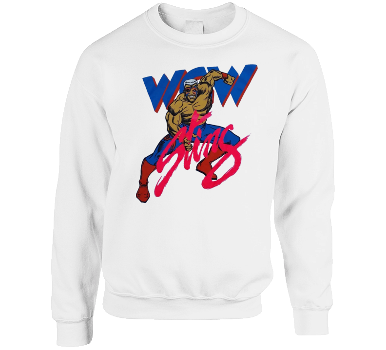 Wcw Sting Retro Wrestling Crewneck Sweatshirt T Shirt