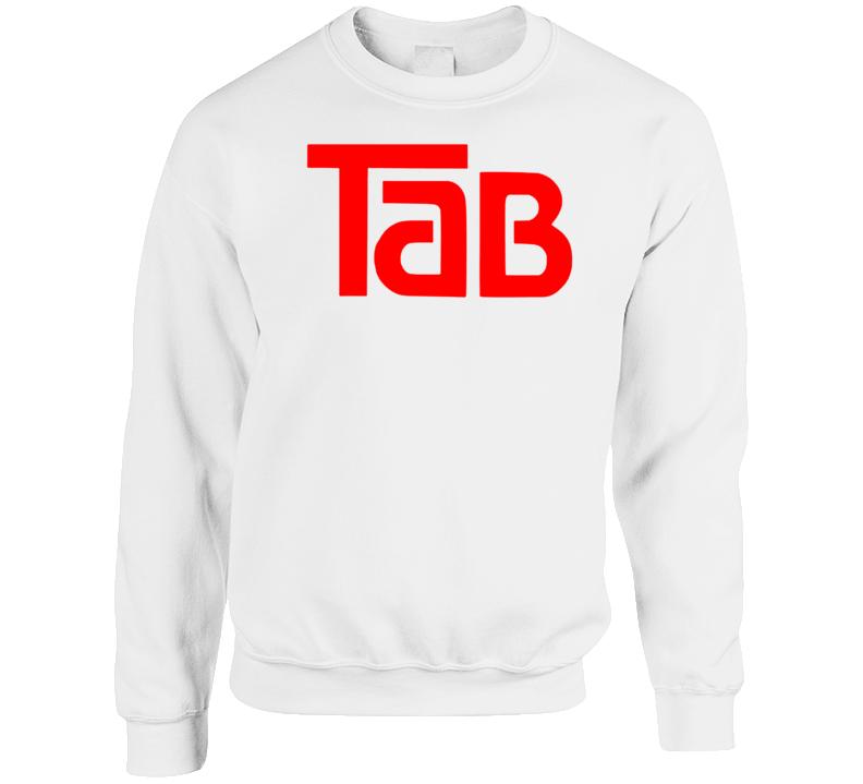 Tab Cola Retro Soda Soft Drink Beverage Crewneck Sweatshirt  T Shirt