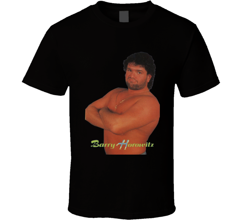 Barry Horowitz Retro Wrestling T Shirt