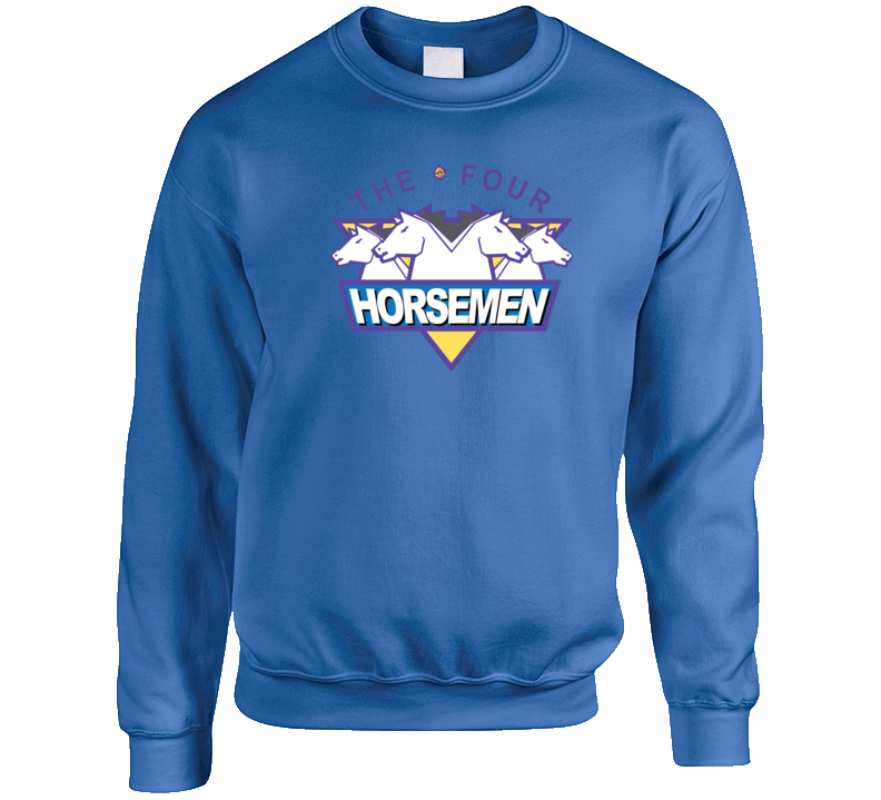 Four Horseman Retro Wrestling Wcw Crewneck Sweatshirt T Shirt