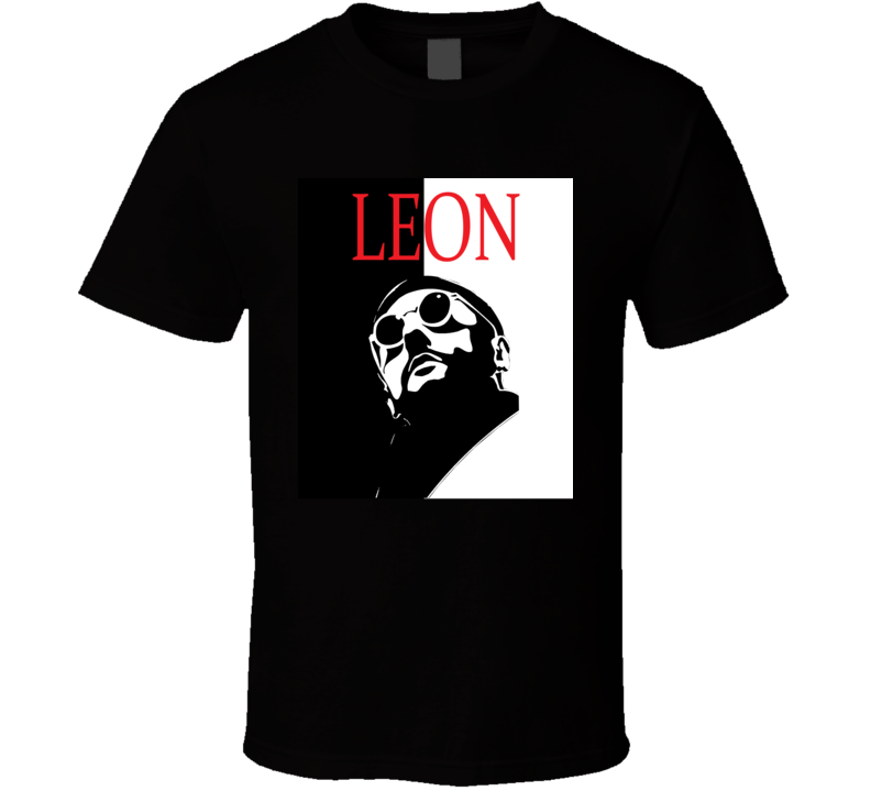 Leon The Professional Scarface Style Retro Movie T Shirt  T Shirt