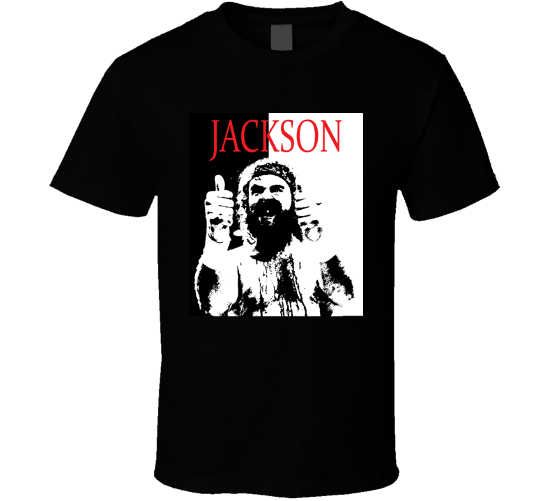 Bloodsport Ray Jackson Scarface Style Retro 80's Movie T Shirt  T Shirt