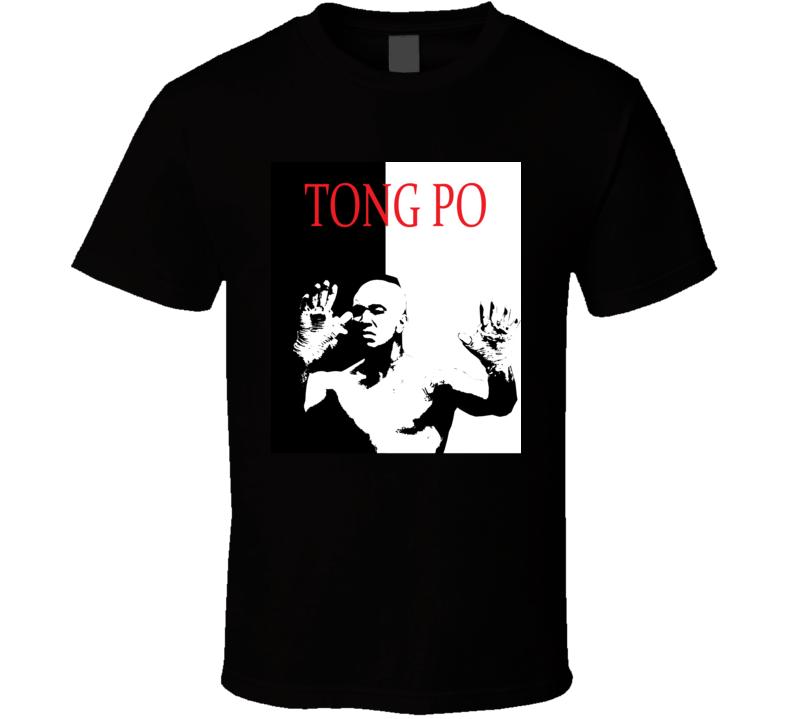Kickboxer Van Damme Tong Po Scarface Style Retro Movie T Shirt  T Shirt