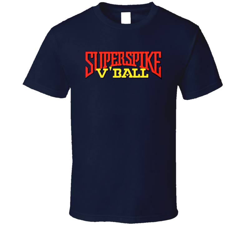 Superspike V Ball Retro Nes Video Game T Shirt  T Shirt