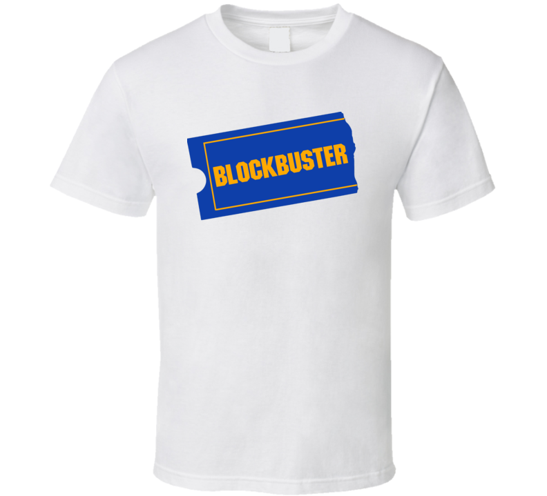 Blockbuster Video Logo Video Store Retro  T Shirt