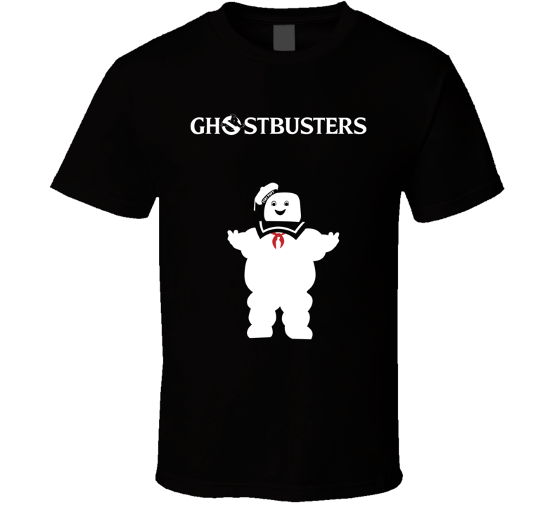 Ghostbusters Retro 80's Classic Movie Fan T Shirt