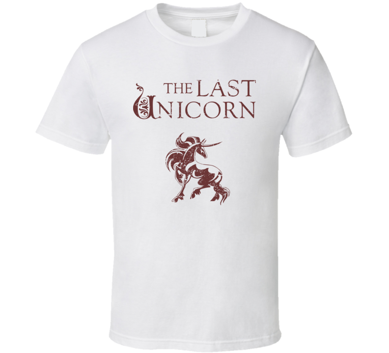 The Last Unicorn Movie Film Novel Fantasy Fan T Shirt