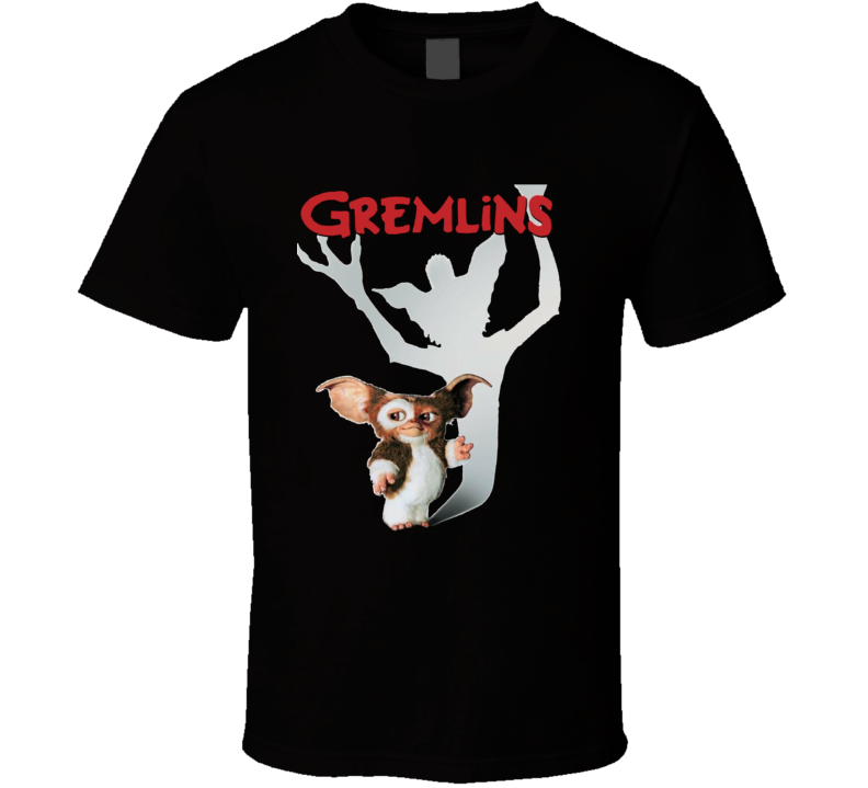 Gremlins Retro 80's Horror Classic Fan Movie T Shirt