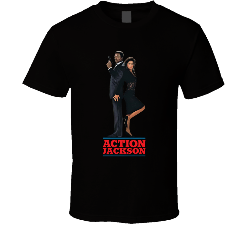 Action Jackson Carl Weathers 80s Action Movie  T Shirt