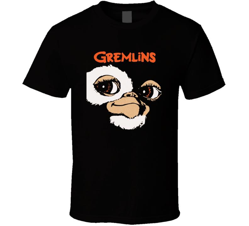 Gremlins 80's Horror Movie Gizmo Retro  T Shirt