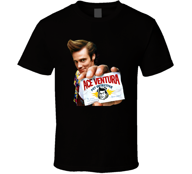 Ace Ventura Pet Detective 90s Comedy Movie Fan T Shirt