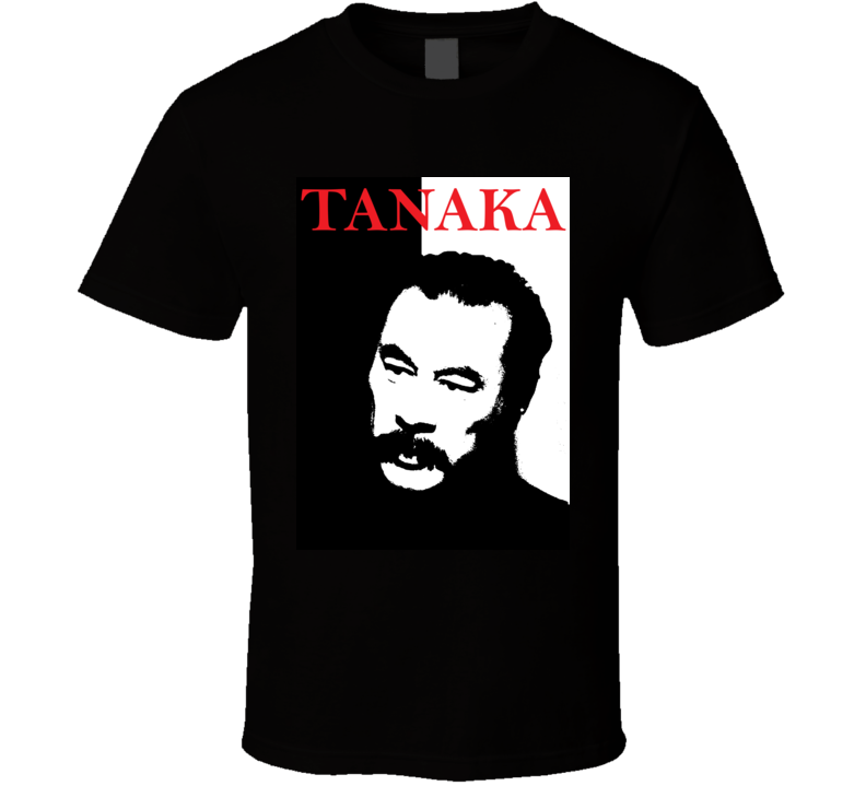 Bloodsport Tanaka Shidoshi 80s Action Movie T Shirt