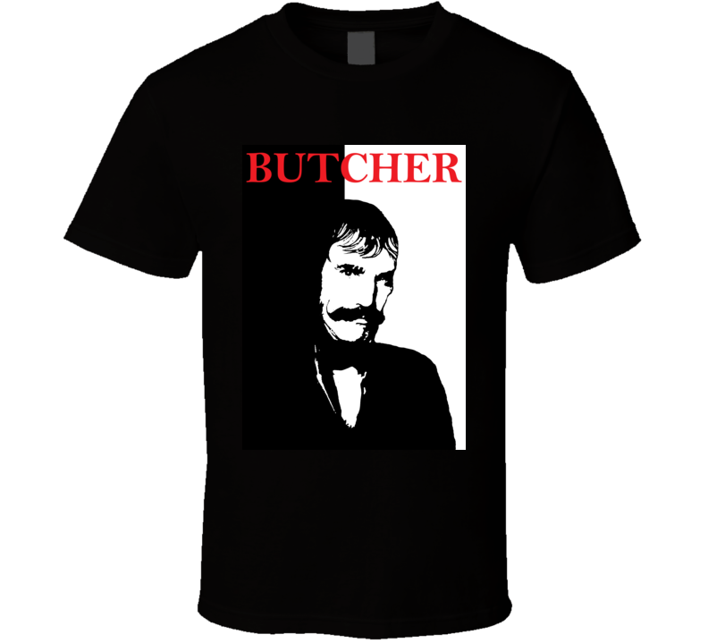 Bill The Butcher Gangs Of New York Scarface Movie T Shirt