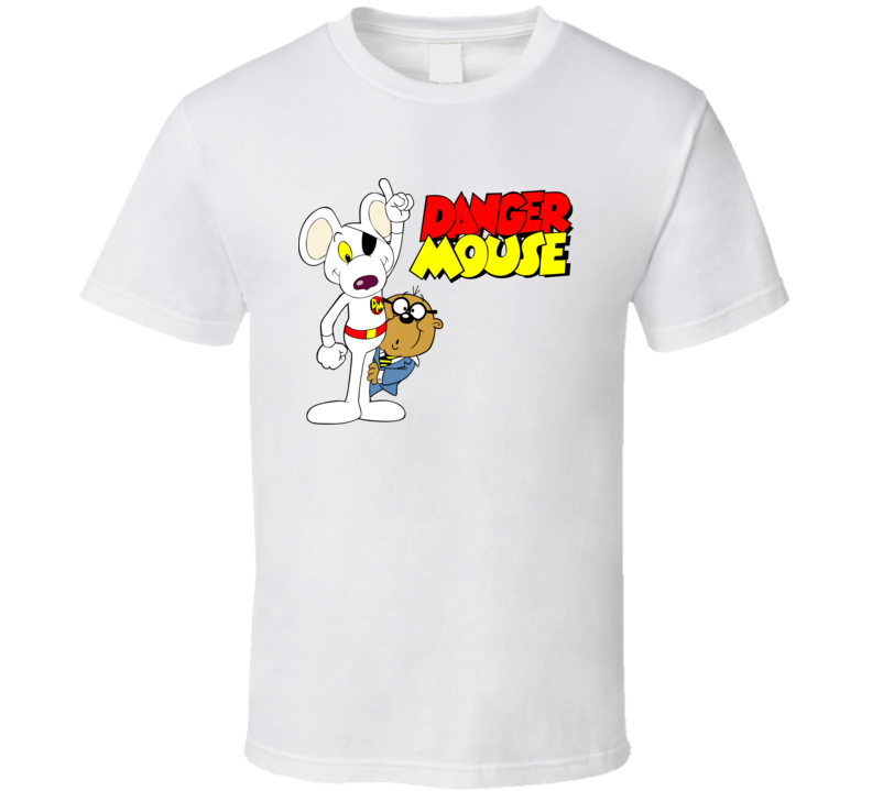Danger Mouse Retro 80s Cartoon T Shirt