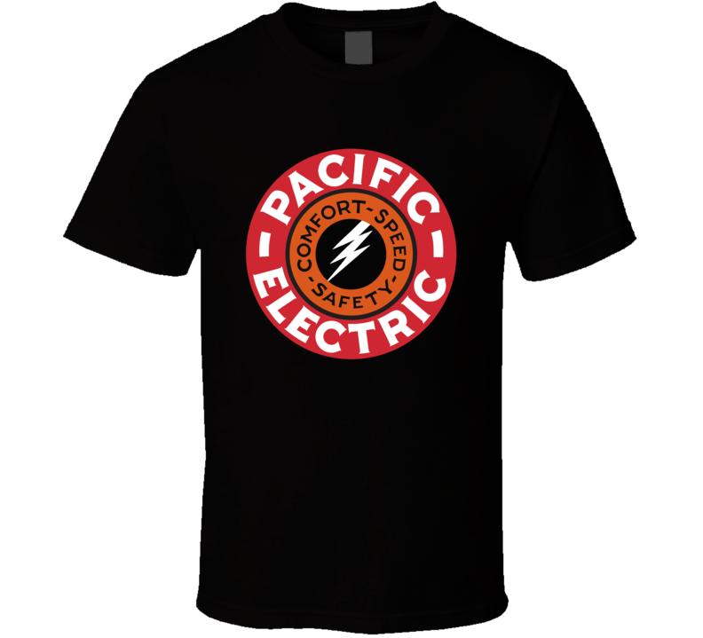 Pacific Electric Railway Retro Railway Trains T Shirt
