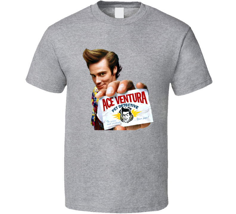 Ace Ventura Pet Detective Retro 90s Movie T Shirt