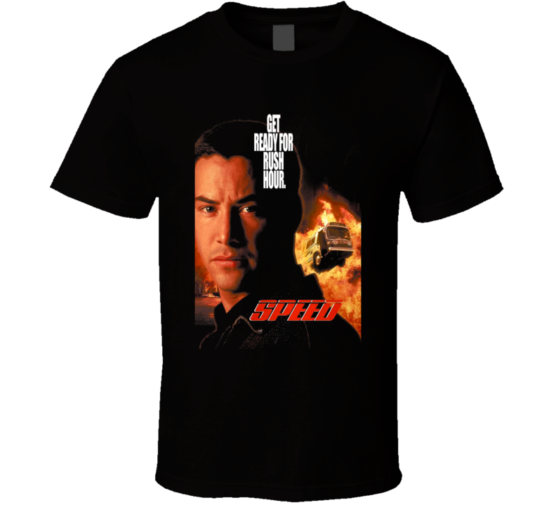 Speed 90s Action Movie Fan T Shirt