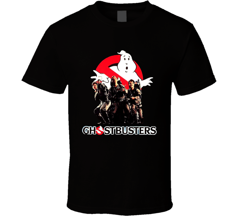 Ghostbusters Retro 80s Movie T Shirt