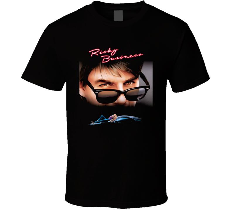 Risky Business Retro 80s Movie Fan T Shirt