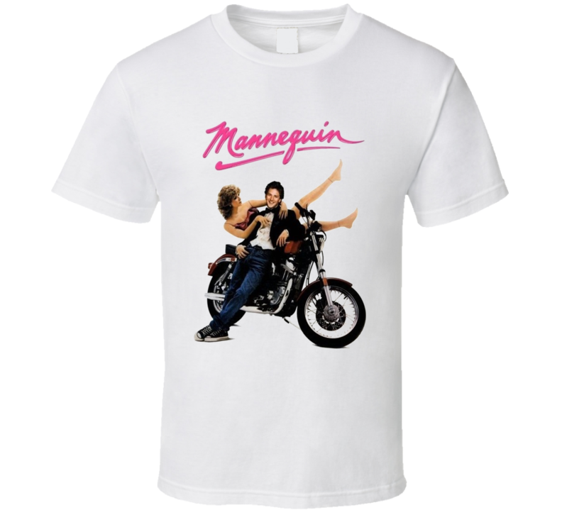 Mannaquin Retro 80s Funny Movie T Shirt
