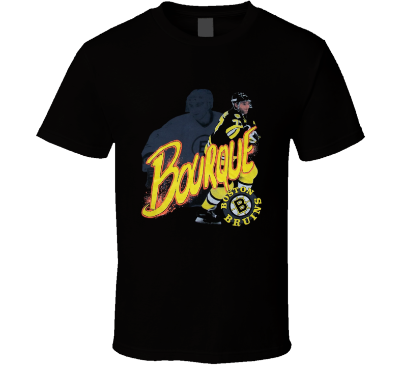 Ray Bourque Boston Hockey Legend T Shirt