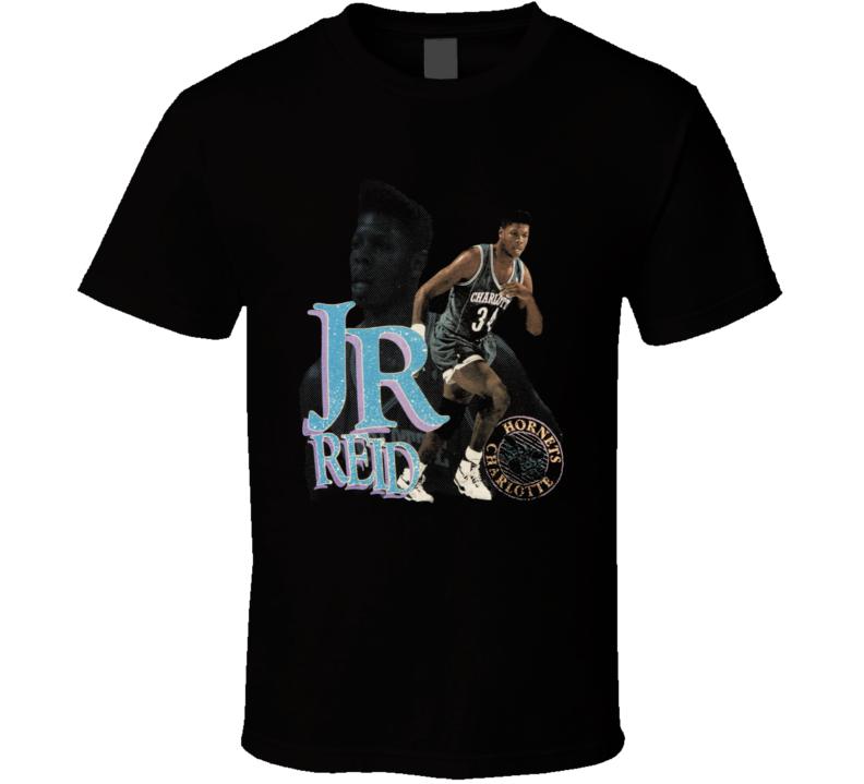 Jr Reid Charlotte Basketball Retro T Shirt