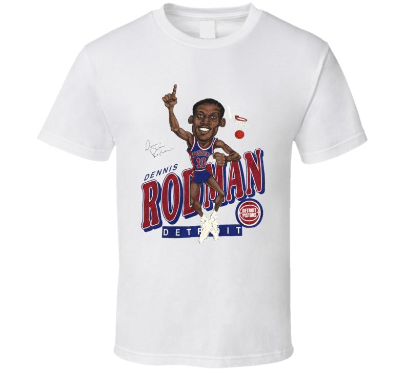 Dennis Rodman Detroit Basketball Legend T Shirt