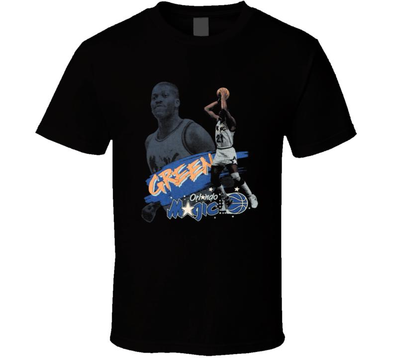 Sidney Green Retro Orlando Basketball T Shirt