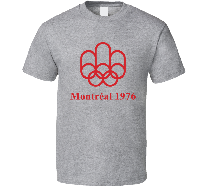 1976 Montreal Summer Olympics Olympiad T Shirt