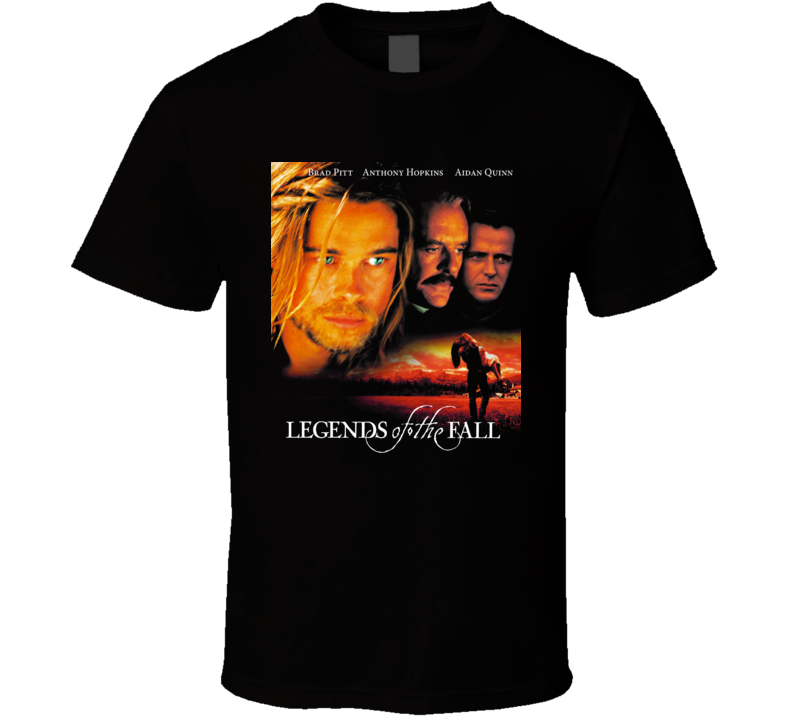 Legends Of The Fall Brad Pitt 90's Retro Movie T Shirt