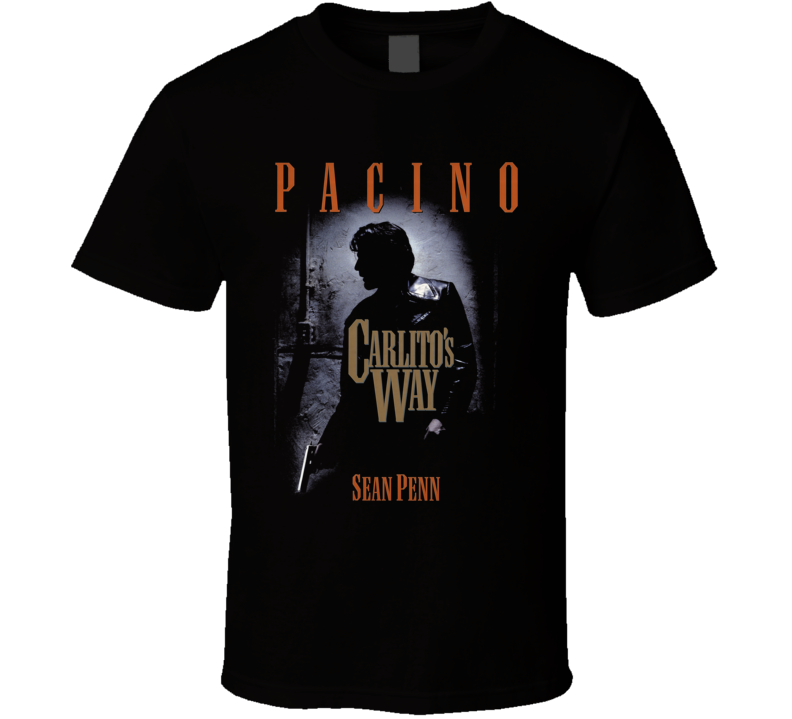 Carlito's Way Pachino Retro Gangster Movie T Shirt