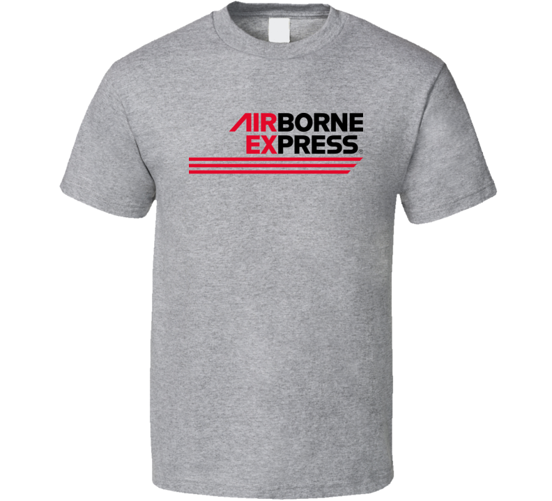 Airborne Express Airlines Defunct Airline Logo T Shirt