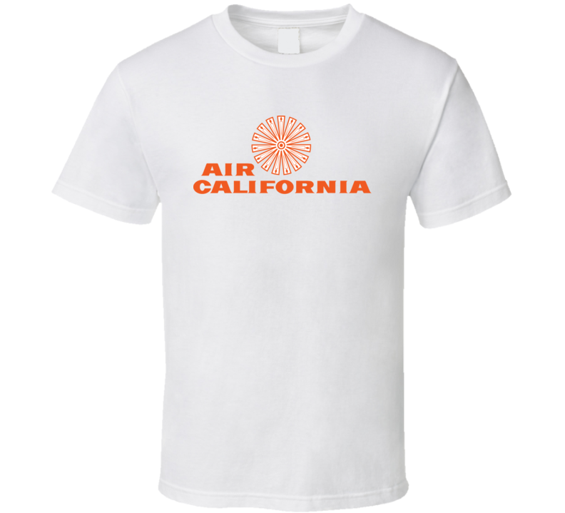 Air California Defunct Airline Logo T Shirt