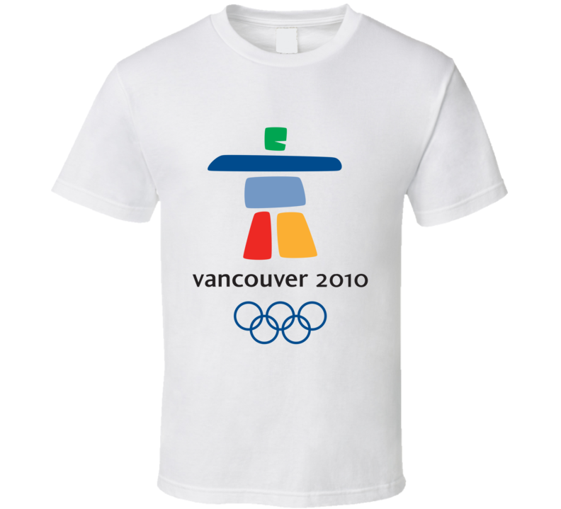 Vancouver 2010 Winter Olympics Olympiad T Shirt