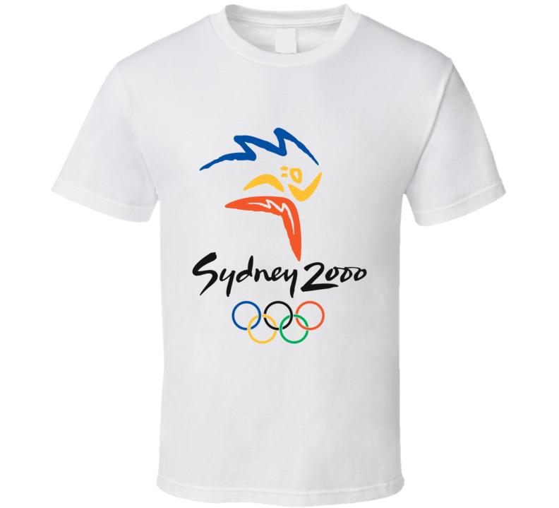Sydney 2000 Summer Olympics Olympiad T Shirt
