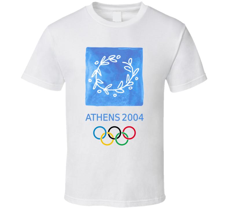 Athens 2004 Summer Olympics Olympiad T Shirt
