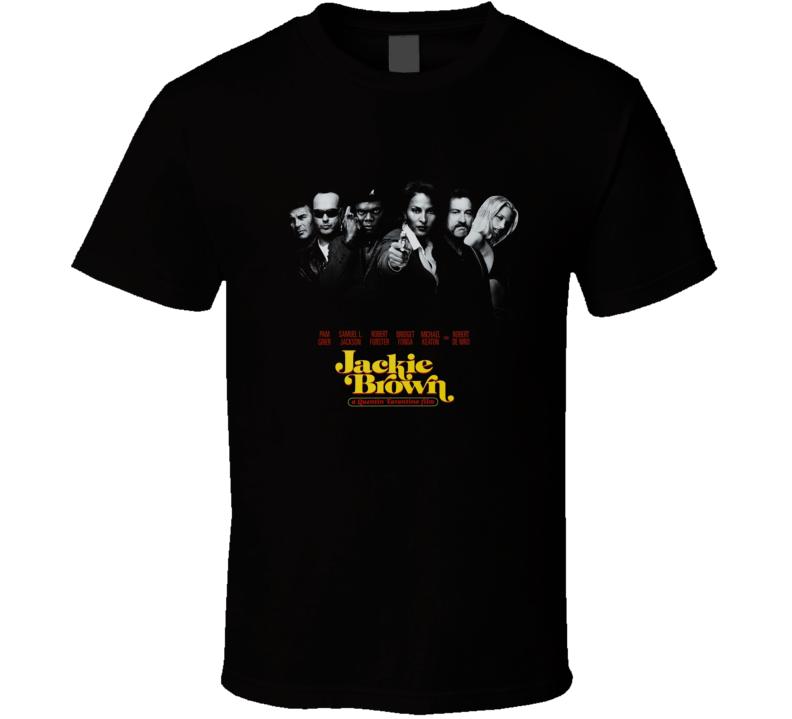 Jackie Brown Tarantino Retro Movie T Shirt