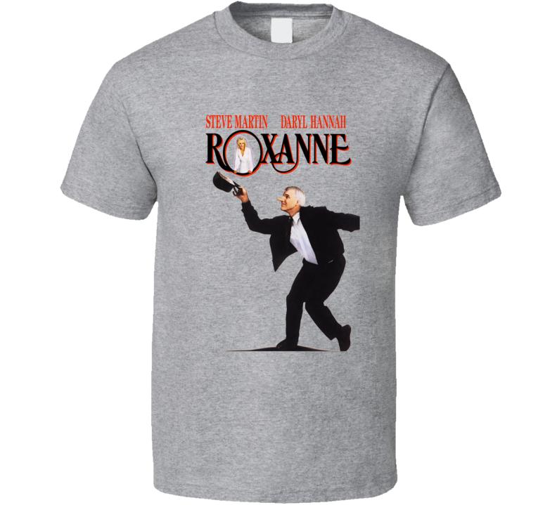 Roxanne 80's Romance Movie T Shirt