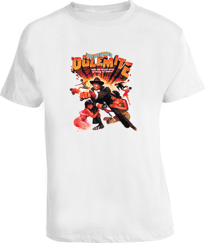 Dolemite Blaxploitation Movie T Shirt