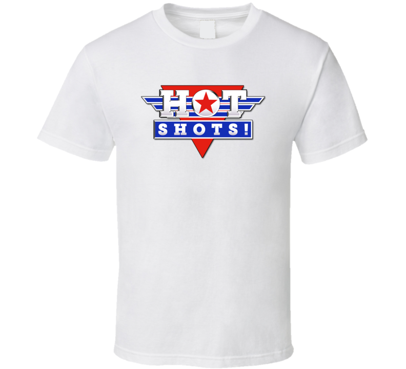 Hot Shots Retro 90's Comedy Funny Movie T Shirt