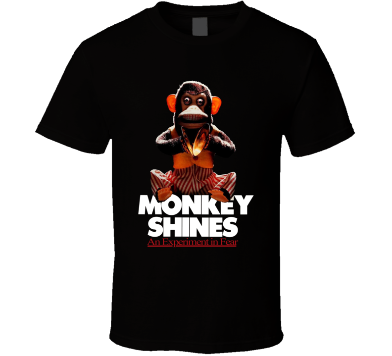 Monkey Shines Retro Classic Horror Movie T Shirt