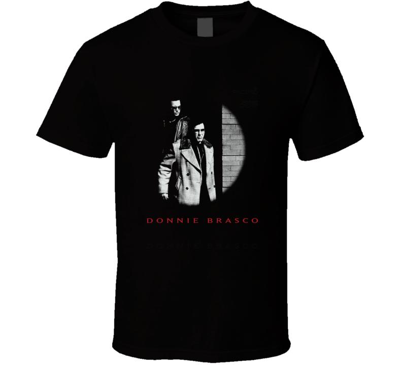 Donnie Brasco Al Pachino Gangster Movie T Shirt